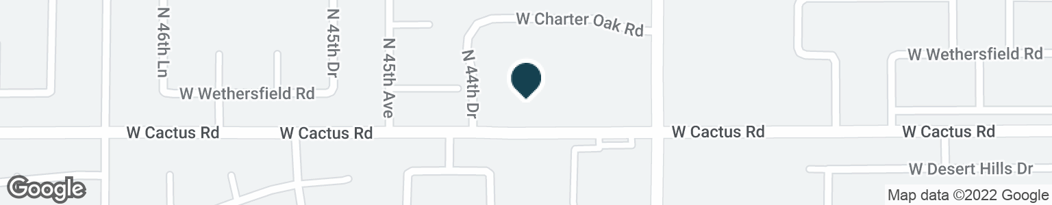 Google Map of4410 W CACTUS RD