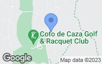 Map of Coto de Caza, CA
