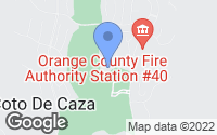 Map of Coto de Caza, CA