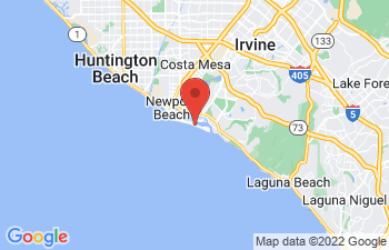 Map of Newport Beach