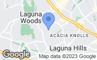 Map of Laguna Woods, CA