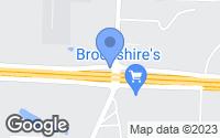 Map of Bonham, TX