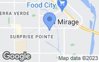 Map of El Mirage, AZ
