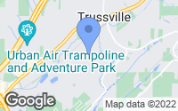 Map of Trussville, AL