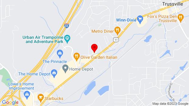 Google Map of 1840 Gadsden Highway, Suite 100, Birmingham, AL 35235