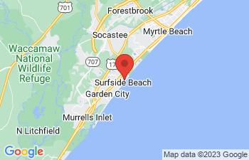 Map of Surfside Beach