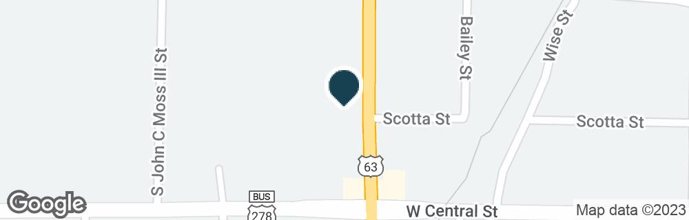 Google Map of310 S MARTIN ST