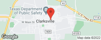Map of 103A N Locust St in Clarksville