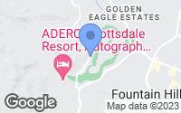 Map of Fountain Hills, AZ