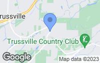 Map of Trussville, AL