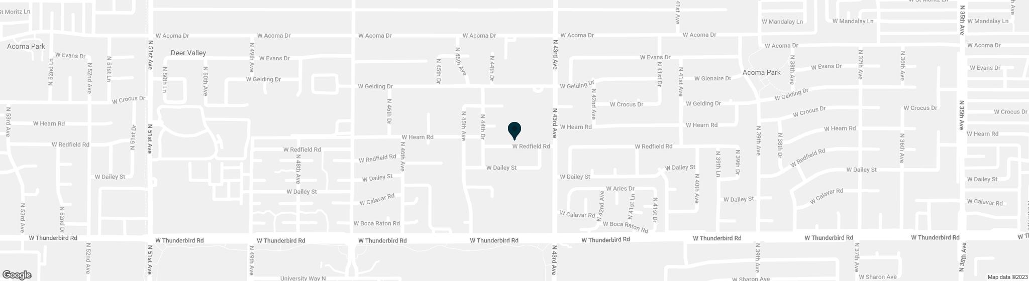 4332 W REDFIELD Road Glendale AZ 85306