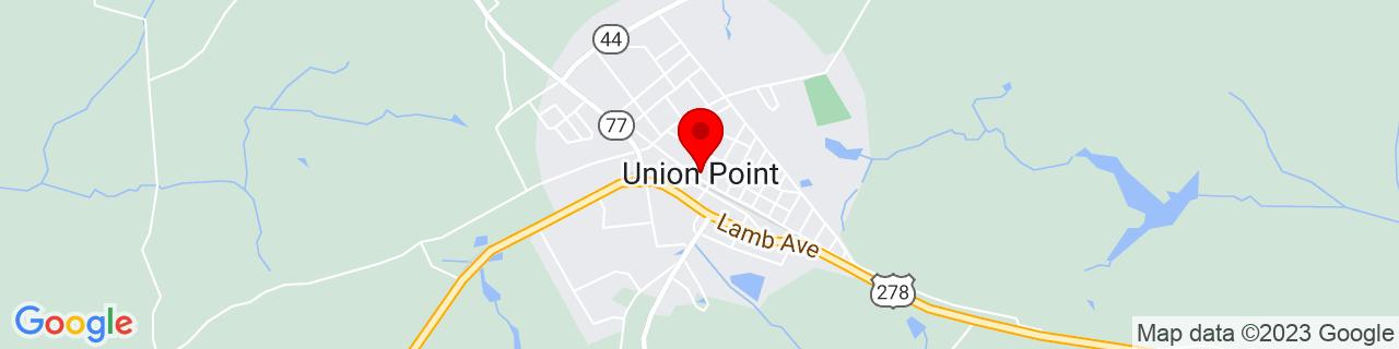 Google Map of 33.6156831, -83.0745969