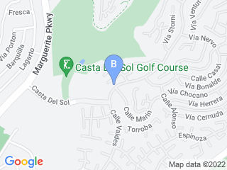 Map of Penny Pampers Pets Dog Boarding options in Mission Viejo | Boarding