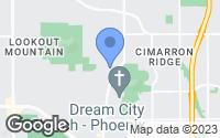Map of Phoenix, AZ