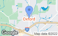 Map of Oxford, GA
