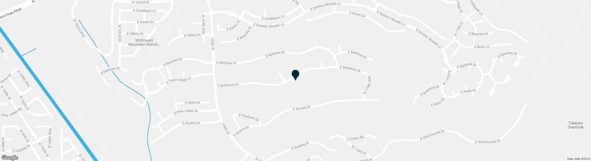 10827 E BUTHERUS Drive Scottsdale AZ 85255