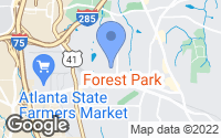 Map of Forest Park, GA