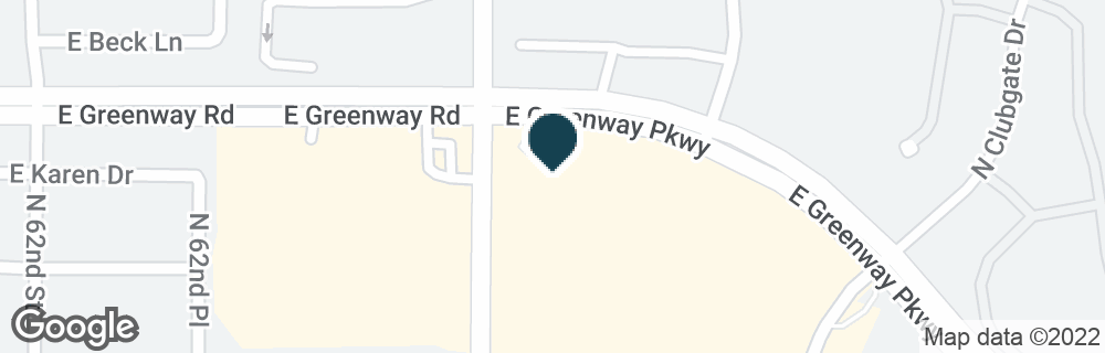 Google Map of6501 E GREENWAY PKWY