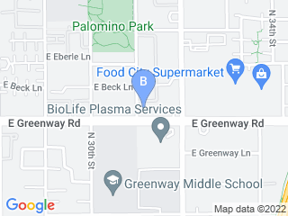 Map of Canyon Animal Hospital Dog Boarding options in Phoenix | Boarding