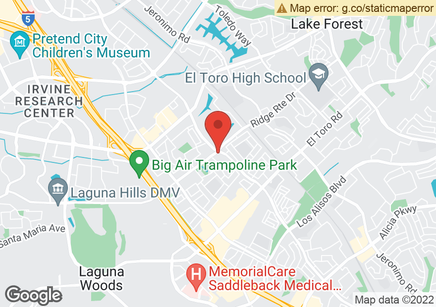 Google Map of 24382 MUIRLANDS BLVD