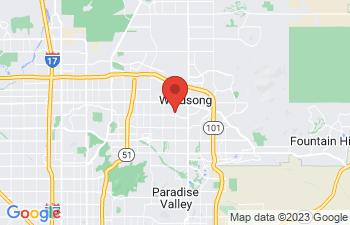 Map of Scottsdale