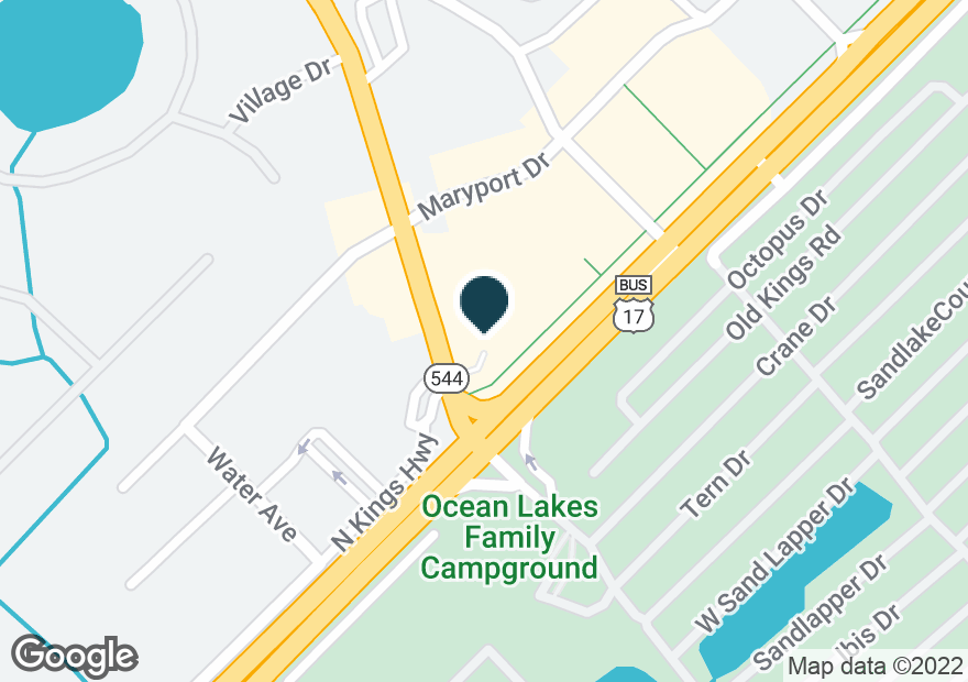 Google Map of1110 DICK POND RD