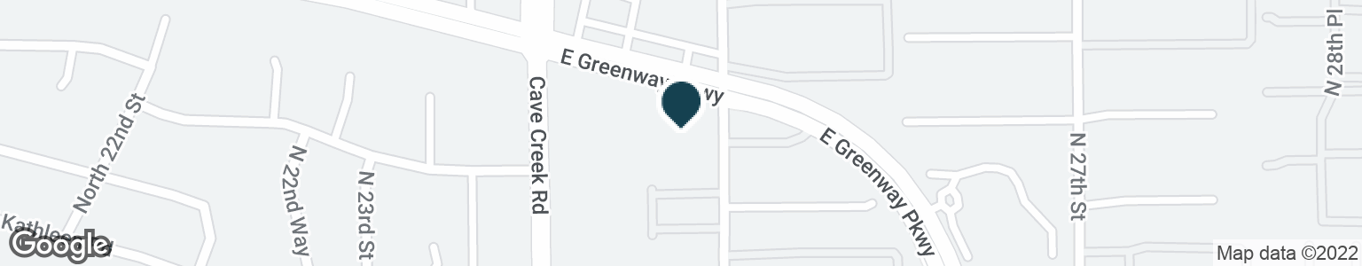 Google Map of2435 E GREENWAY PKWY