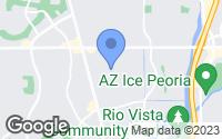 Map of Sun City, AZ