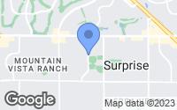 Map of Surprise, AZ