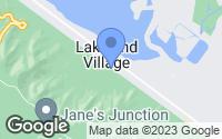 Map of Lake Elsinore, CA