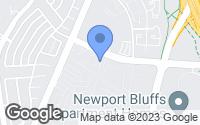 Map of Newport Beach, CA