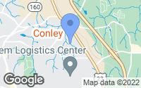 Map of Conley, GA