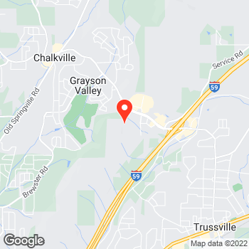 Map of Pizza in Trussville, AL – Cicis Pizza at 5915 Trussville Crossing Parkway, Trussville, AL 35235