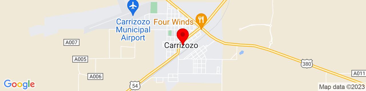 Google Map of 33.641666666666666, -105.87666666666667
