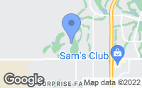 Map of Surprise, AZ
