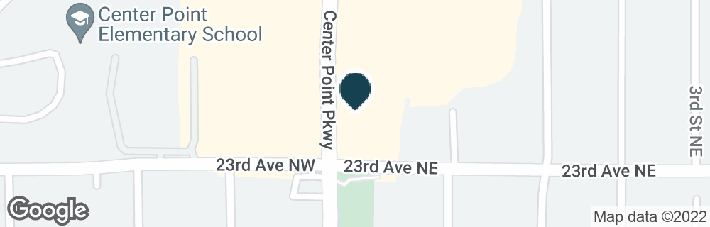 Google Map of2301 CENTER POINT PKWY