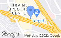 Map of Irvine, CA