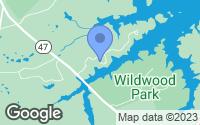 Map of Appling, GA