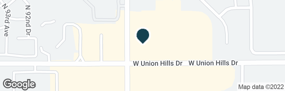 Google Map of9050 W UNION HILLS DR