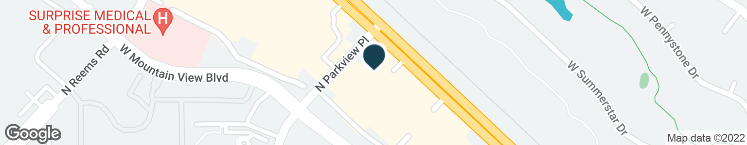 Google Map of14285 W GRAND AVE