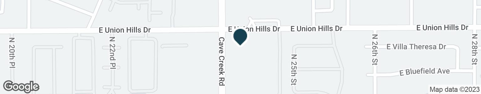 Google Map of2415 E UNION HILLS DR
