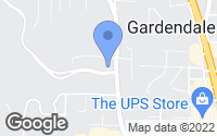 Map of Gardendale, AL