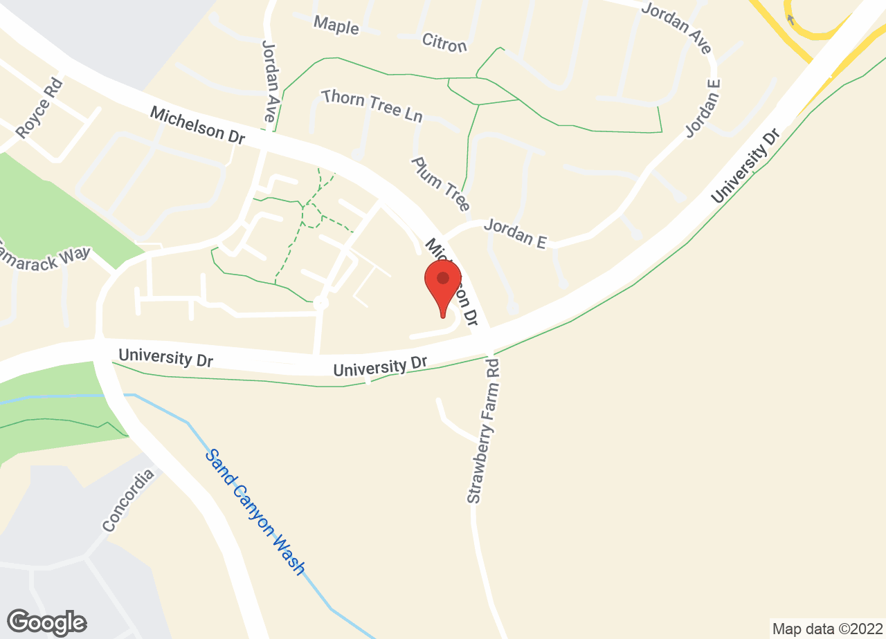 Google Map of VCA Irvine University Park Animal Hospital
