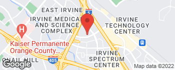 Map of 4 Venture in Irvine