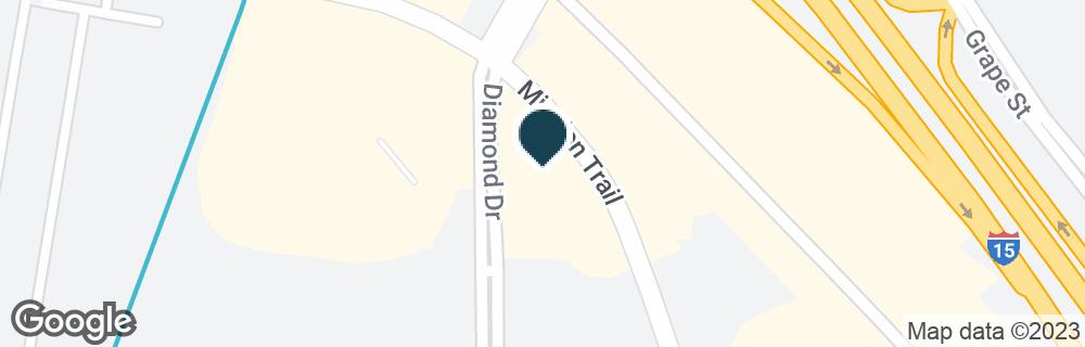 Google Map of160 DIAMOND DR