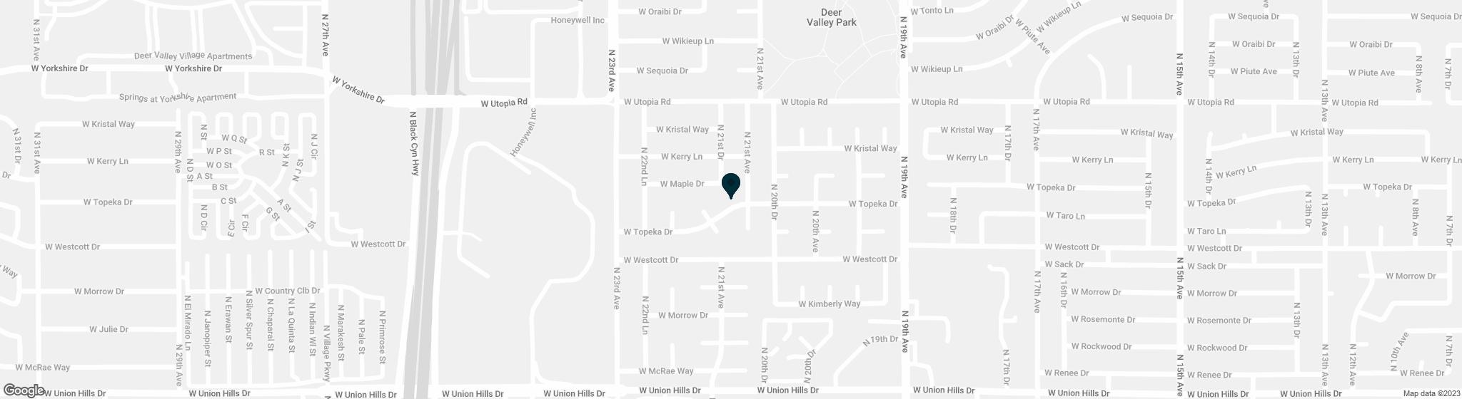 2110 W TOPEKA Drive Phoenix AZ 85027