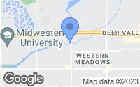 Map of Glendale, AZ