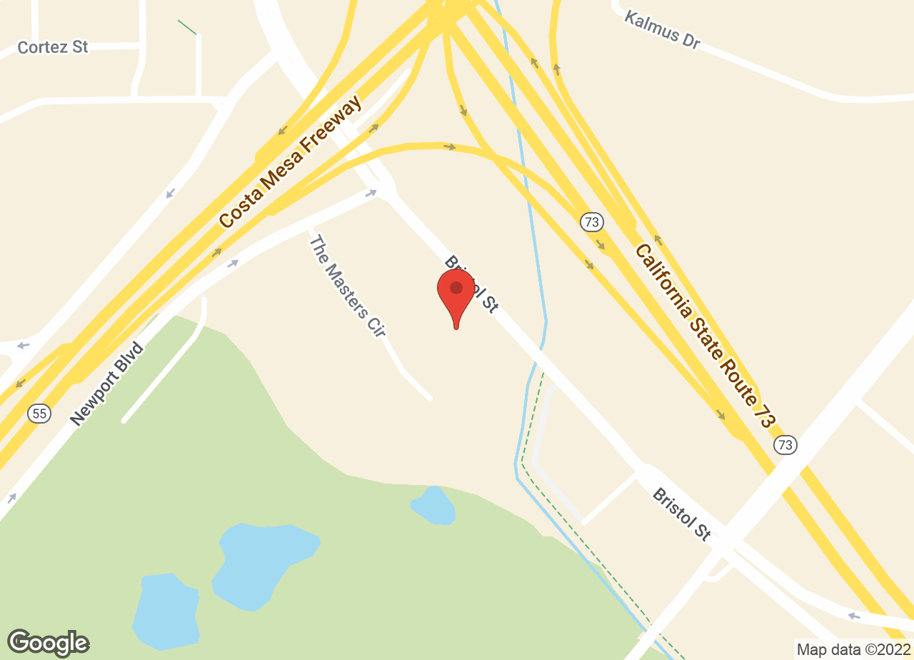 Google Map of VCA Airport Irvine Animal Hospital