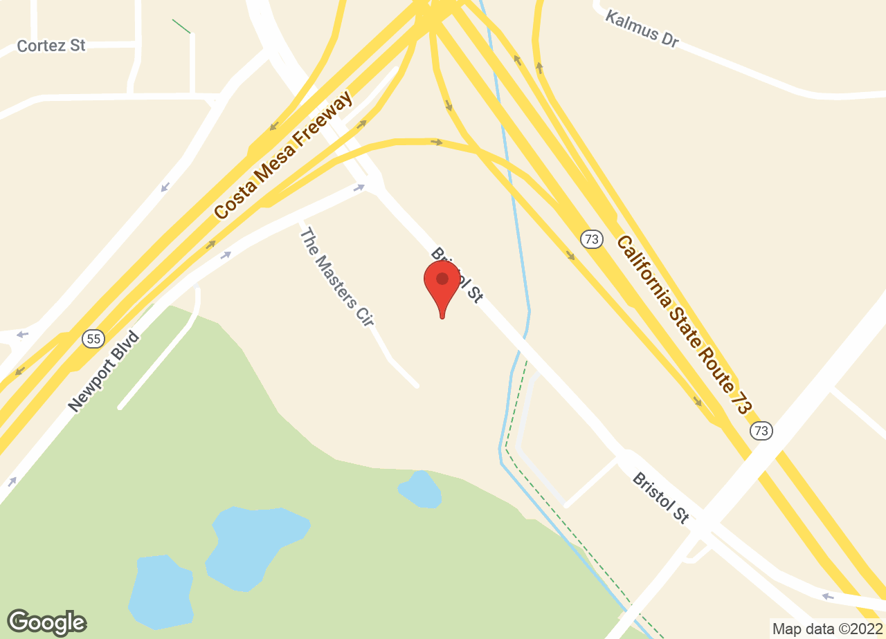 Google Map of VCA Airport Irvine Animal Hospital
