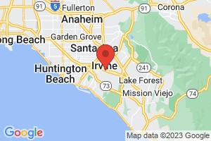 Map of Irvine